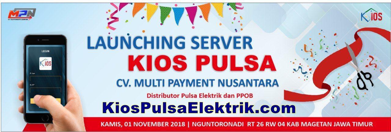 Kios Pulsa Elektrik